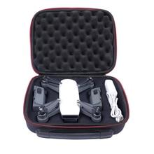 Ева жесткий защитный мешок Drone коробка для DJI Spark Drone & аксессуары Travel чехол для хранения