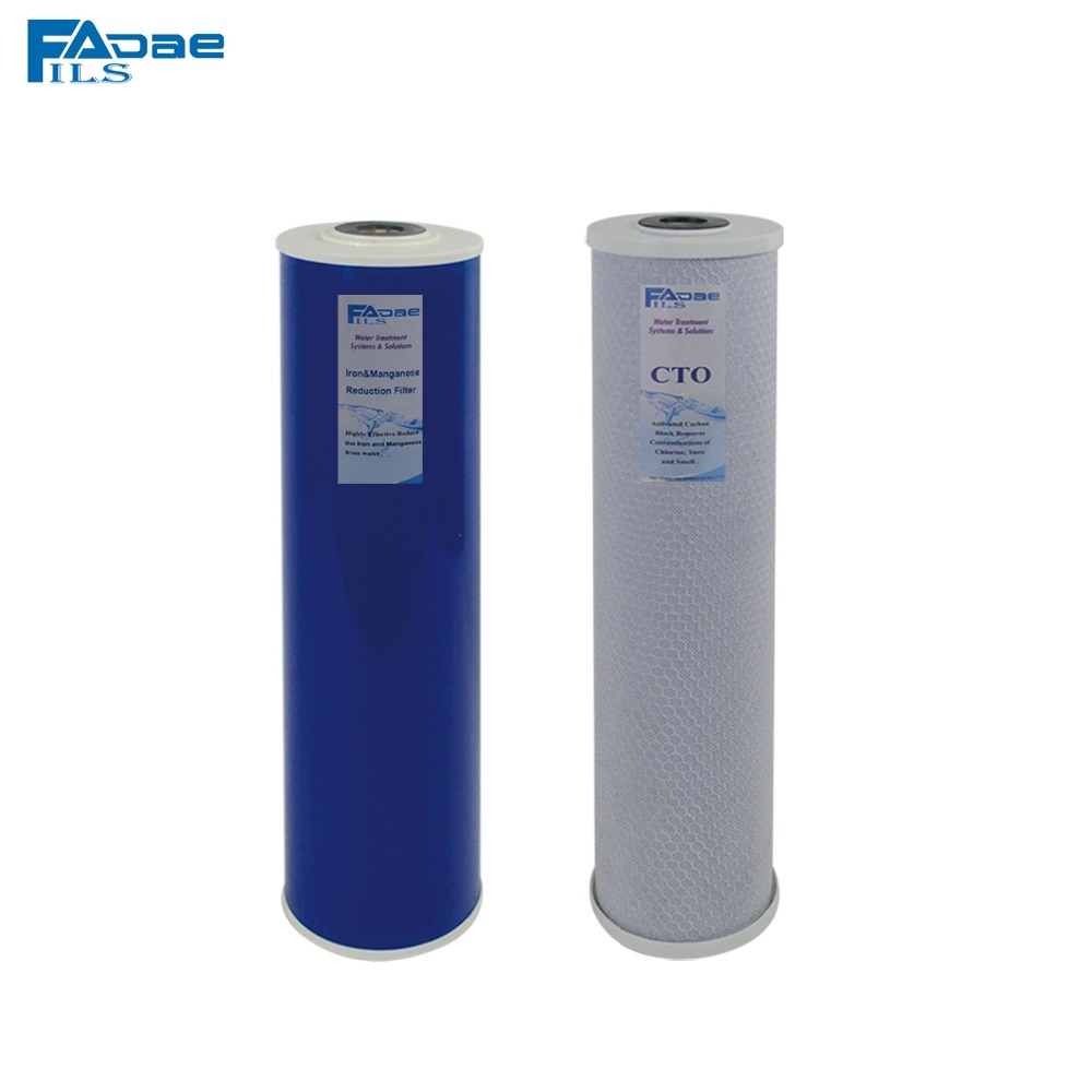 whole house water filter cartridge. 2 STAGE Whole House IRON Water Filter System Replacement Filters 20\ Cartridge