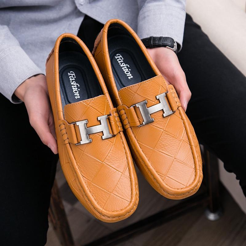 Formelle blue Hommes Cuir Oxford Black Casual Mode De Chaussures Confortable En Bateau Et Style Conduite Véritable Britannique brown Douce qpqFTZ
