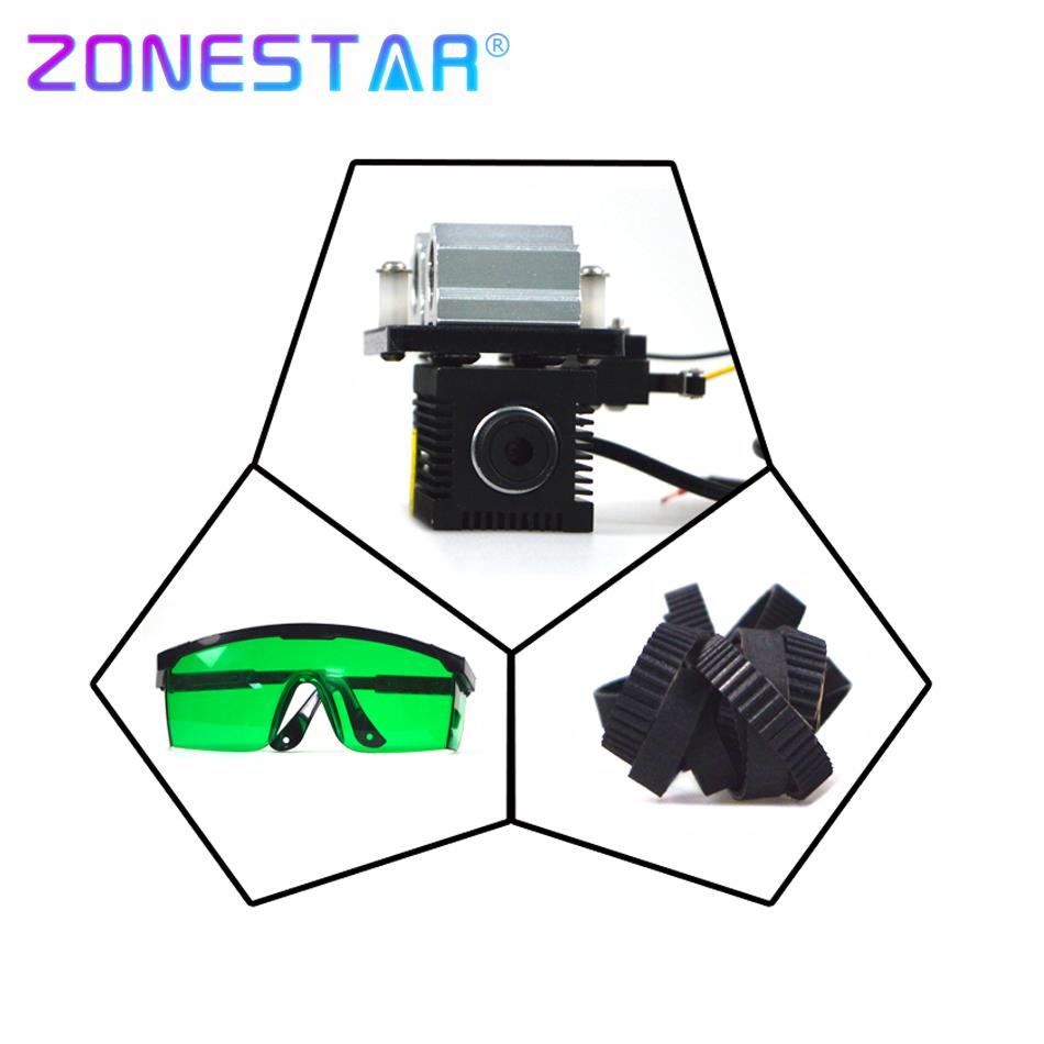 Prix pour Nouvelle Arrivée Laser graveur de marquage de coupe mise à niveau DIY kit pour zonestar P802 D805 D806 3D imprimante machine