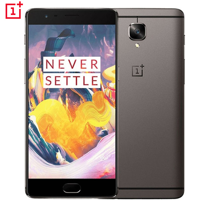 Original Oneplus 3T A3010 4G Mobile Phone Android 6.0 Quad Core Snapdragon 821 6G RAM 64G ROM 5.5FHD 16.0MP 4G LTE Cellphone