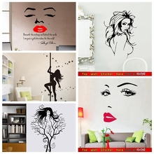 Naked Girls Wall Stickers Women Girls bedroom Decorations Waterproof Sexy Products Vinyl Stickers Mural Art Posters Wall Decals