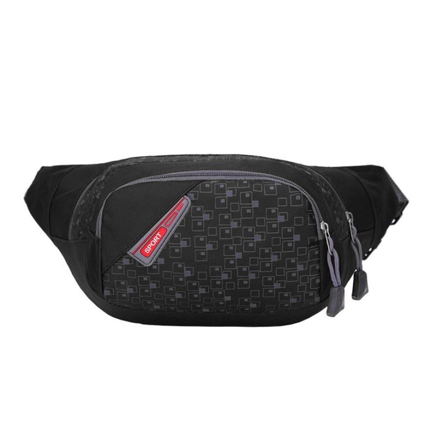 Premium Pack Waist Belt Zip Pouch Running Sports Waist Bag Man Woman Travel Hiking Sport Men
