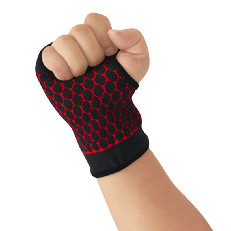 Palm Hand Support Nylon Spandex Latex Wrist Brace Sleeve Fitness Wristband Wrap Guard Protector Equipment For Horse Rider