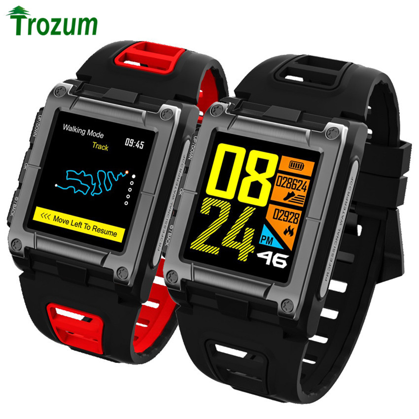 TROZUM Smart Bracelet S929 GPS Clock Compass WristWatch Bluetooth Smart Watch Waterproof Swimming Heart Rate men's sport Band