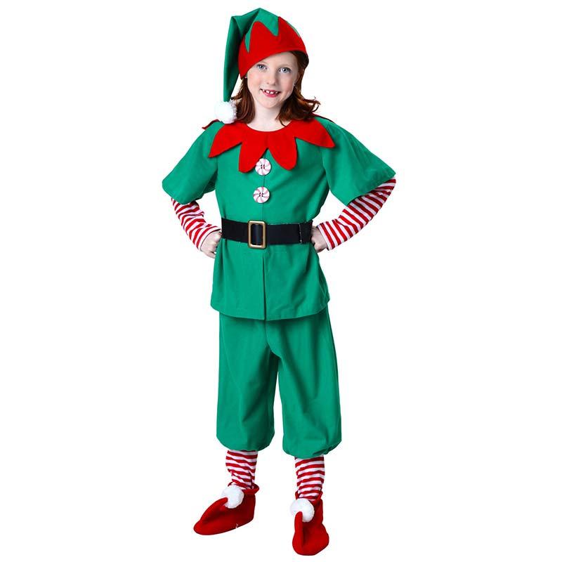 traje de elfo de navidad nio nios y nias ropa traje de halloween incluye unids