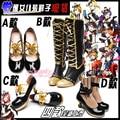 Nuevo amor en vivo del traje de cosplay Minami Kotori ANIME zapatos de punk botas japonesas toku cheongsam zapatos ANIME
