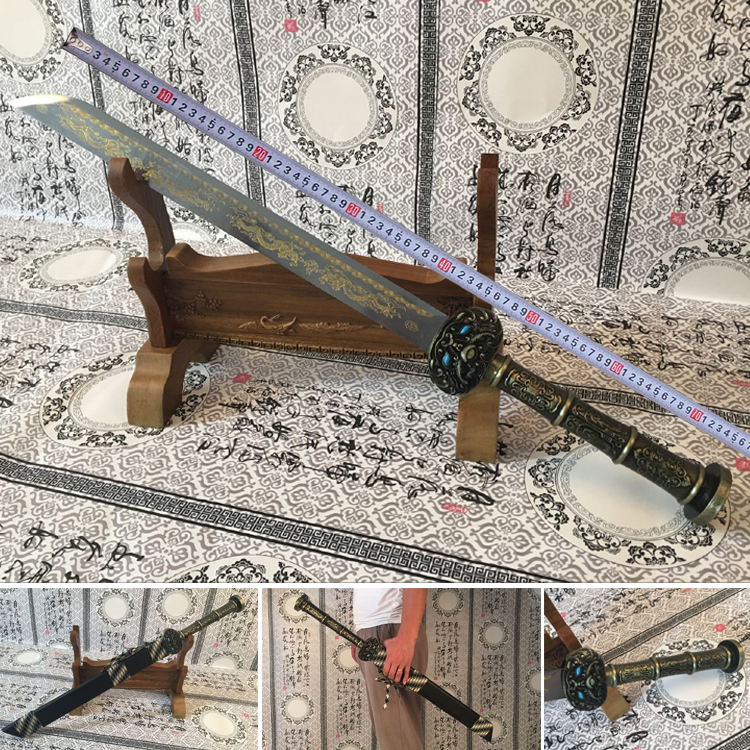 Stupendous Us 599 0 Longquan Sword Handmade Chinese Tang Dynasty Sword Guard Steel Cold Weapon T Christmas Decorations For Home Not Open Blade In Swords Andrewgaddart Wooden Chair Designs For Living Room Andrewgaddartcom