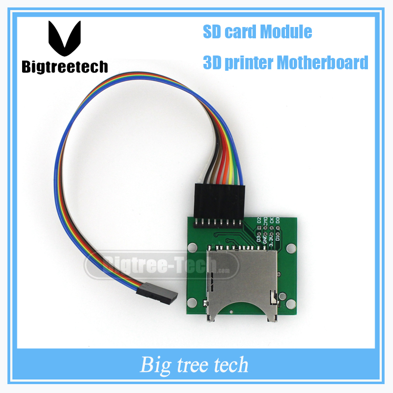 Lower price External SD card module independent external module for motherboard supporting with Dupont line 3D0116