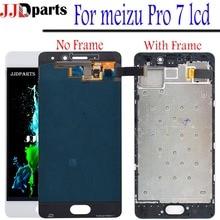 Новый сенсорный экран meizu pro 7 ЖК дигитайзер сборка meizu pro 7 Дисплей с рамкой для 5,2 «meizu pro 7 экран M792M M792H ЖК