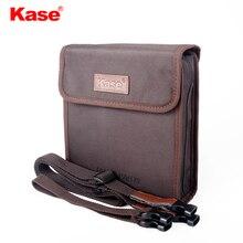 Kase בד מסנן רך תיק מגן Case פאוץ עבור 150x150mm 150x170mm 170x170mm 170x190mm כיכר מסננים, יכול להחזיק 10 מסננים