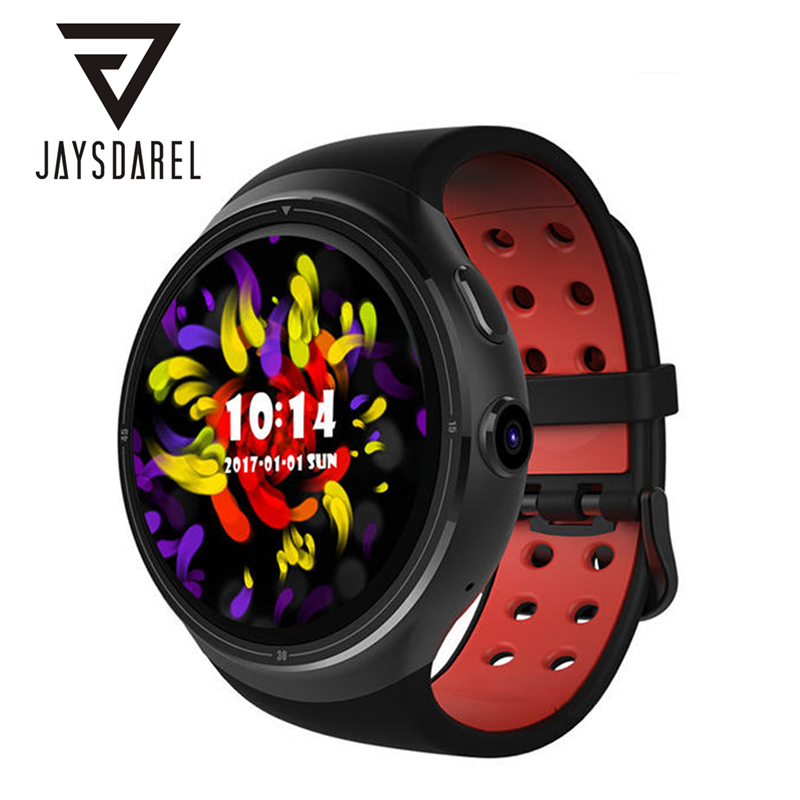 JAYSDAREL HW10 Android 5.1 Smart Watch Phone Heart Rate 3G GPS WIFI HD Camera Nano SIM Card Smart Wristwatch For Android IOS
