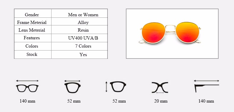 HTB1mO4bLXXXXXbAXVXXq6xXFXXXt - Round Sunglasses Women Retro Brand Designer Classic Rose Gold Steampunk Sun Glasses Men UV400 Rayed Mirror Female UV400