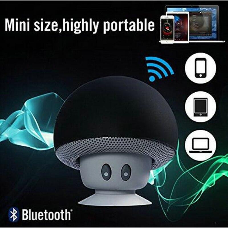 Yeni Mini Kablosuz Bluetooth Mantar Hoparlör Eller Serbest Enayi - Taşınabilir Ses ve Görüntü