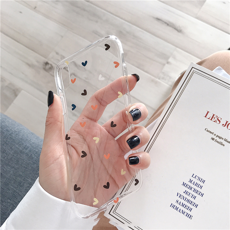 Lovebay Soft Clear Phone Cases For iphone 11 Pro X XS Max XR 6 6S 7
