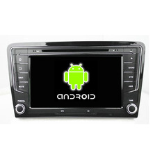 Quad Core 1024*600 Android 5.1.1 Fit Volkswagen VW SANTANA 2013 2014 2015 Car DVD Player Navigation GPS TV 3G Radio