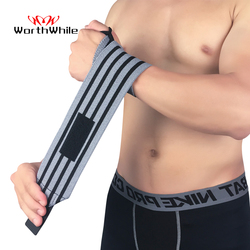 WorthWhile 1 Piece Weightlifting Wristband Wrist Wraps Bandages Brace Powerlifting Gym Fitness Straps Support Sports Equipment