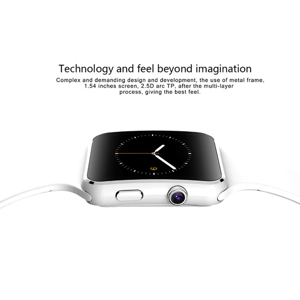 X6 Smart Watch Support SIM TF Card h Camera Smartwatch Bluetooth Dial/with Camera Touch Screen For iPhone Xiaomi Android IOS 10
