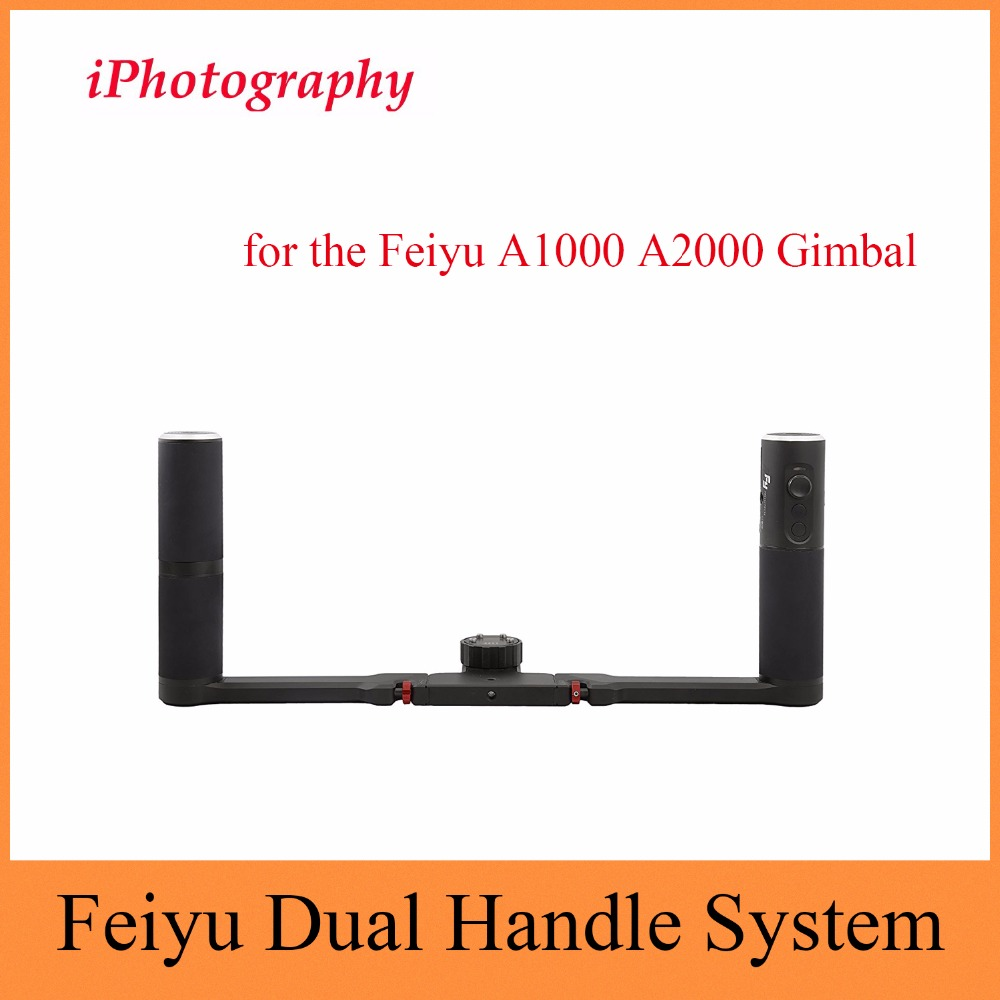 Feiyu Dual Handle System - 2-hand holder system for the Feiyu A1000 <font><b>A2000</b></font> <font><b>Gimbal</b></font> image