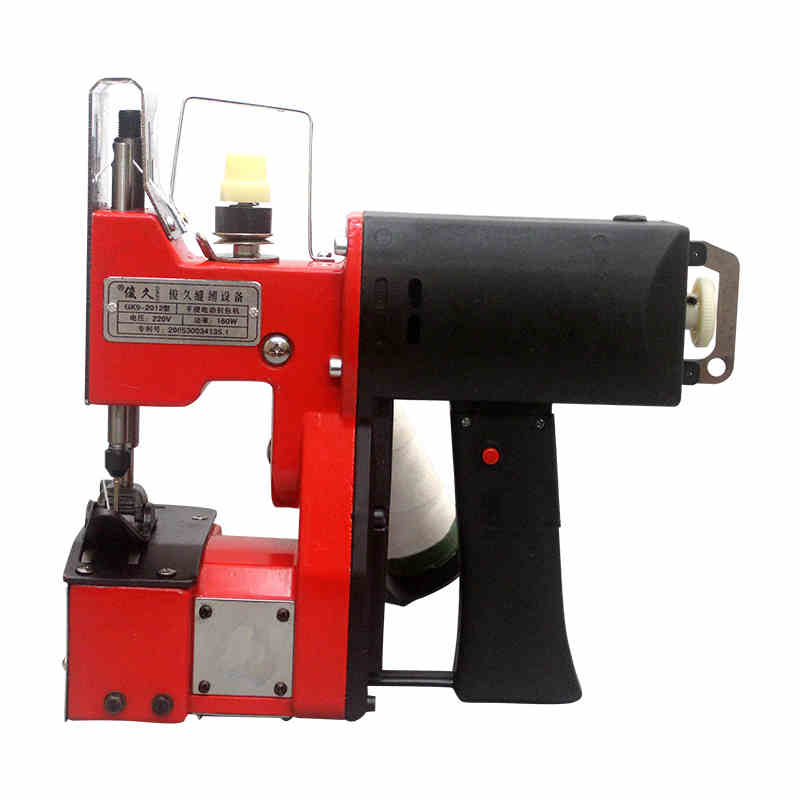 Portable sealing machine packing machine electric machine sewing machine woven bag rice bag seam tool  1pc gk9 018 automatic tangent tool single needle thread chain stitch portable bag woven sewing machine