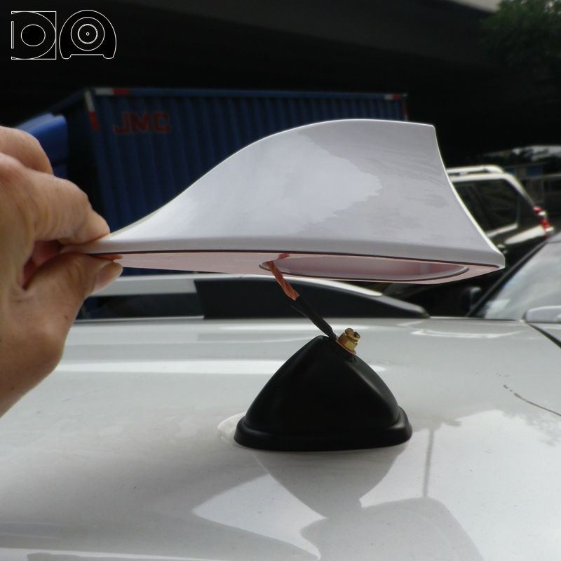 купить Newest shark antenna special car radio aerials shark fin auto antenna signal for Nissan Qashqai недорого