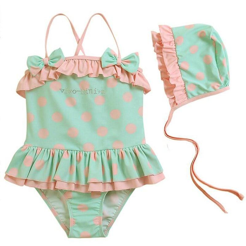 Гарненький купальник для дівчаток 2-8 - Спортивний одяг та аксесуари - фото 3