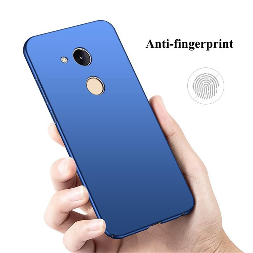 360 Full Protection Matte Housing For Huawei Honor 6C Pro Case Hard Plastic Slim Back Cover For Huawei Honor V9 Play Phone Case