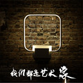 New LED wall lamp indoor rounded square living room bedroom light creative balcony corridor lighting