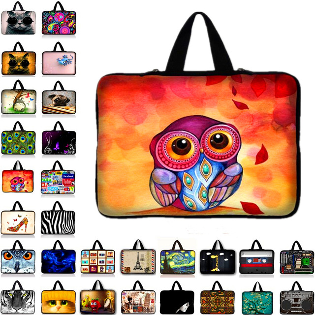 9.7 /10/10.1'' Sleeve Bag Soft Carry Tablet Case for Ipad Air 3 2 1 ipad 7 6 5 4 3 2 1 For 10.1 Samsung Galaxy Tab 2,3,4 image