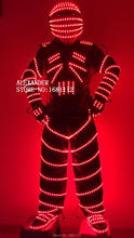 Luminous costume/led robot costume/LED Costume /LED Clothing/Light suits/ LED Robot suits/
