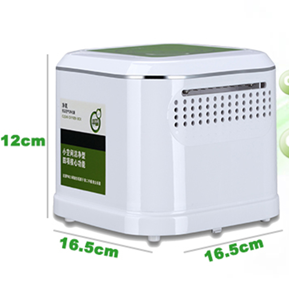 Bedside Air Purifier ~ Small space air cleaning box best for hospital room bed