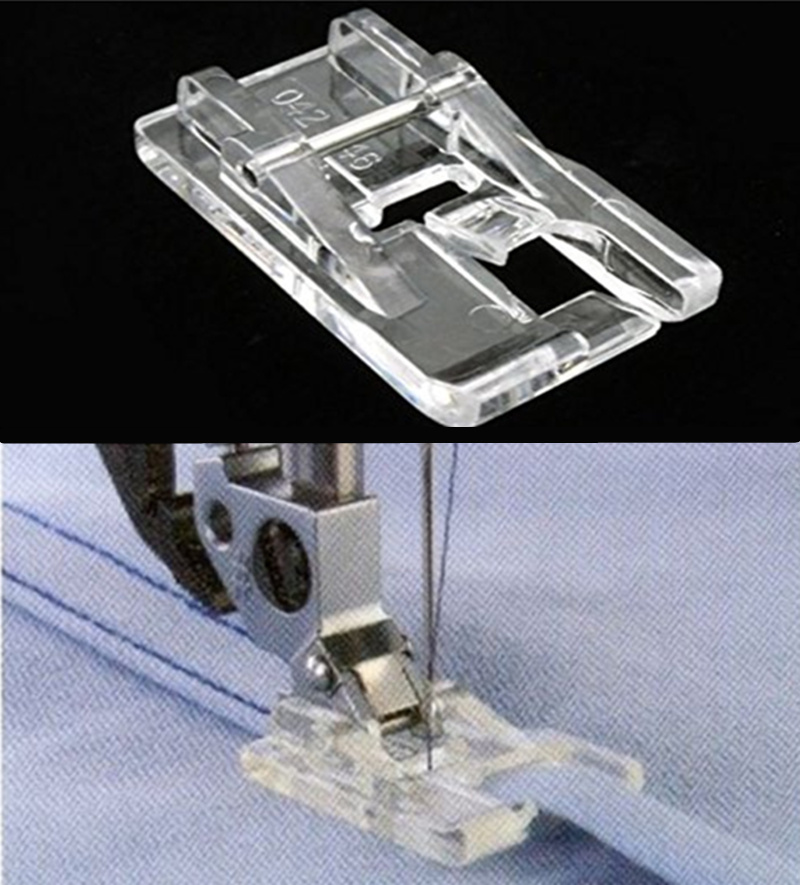 4.5mm Sewing Machines Felling Presser Foot #93-042946-91 820788096 Compatible With Pfaff 5BB5456