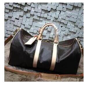LIPT 2018 new fashion women handbag big Travelling bag genuine leather with good quality keepall bag free shipping