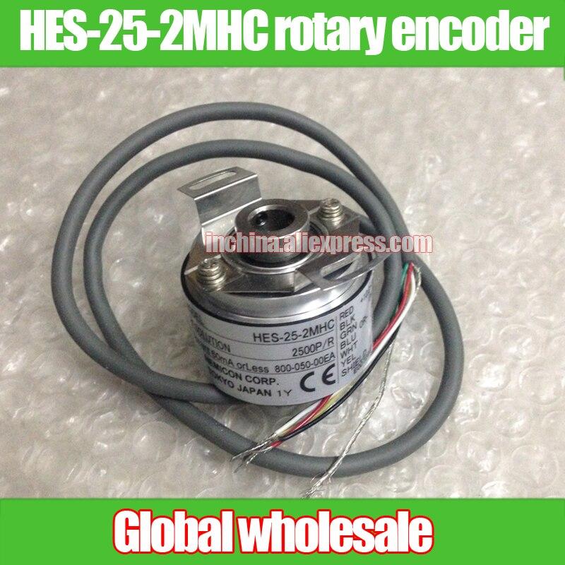 1pcs NEW HES 25 2MHC rotary encoder 2500P R 2500 line economic NEMICON encoder