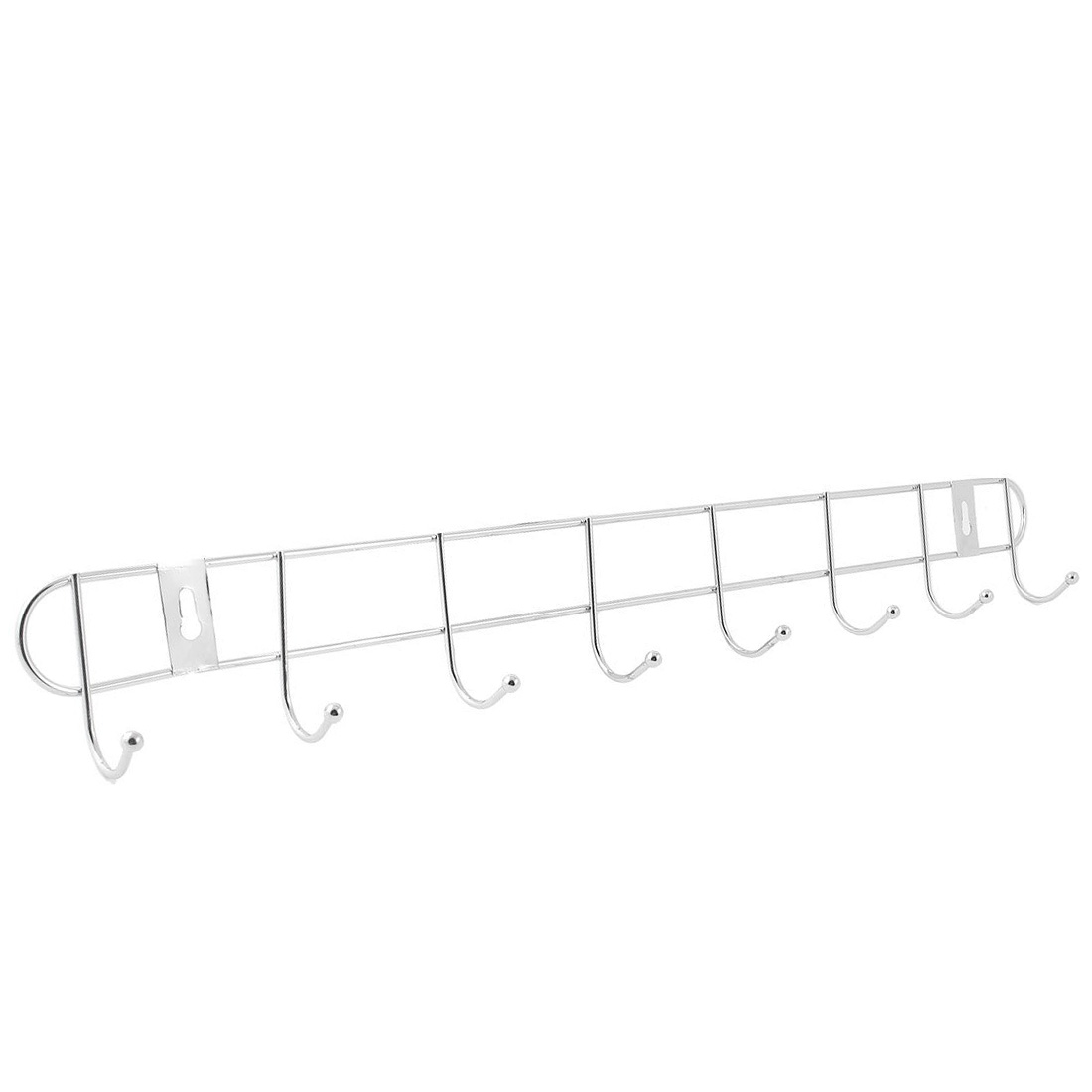 Stainless Steel Wall Hook Rack Hanger for Clothes Towel 2pcs