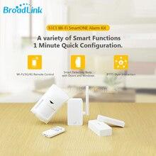 Broadlink s1c smartone kablosuz alarm ve güvenlik kiti dedektör sensörü ios android wifi uzaktan kumanda akıllı ev otomasyon sistemi