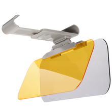 купить 1Pcs Car Sun Visor HD Anti Sunlight Dazzling Day Night Vision Driving Mirror UV Fold Flip Down Clear View Mirror 32*12CM по цене 715.79 рублей