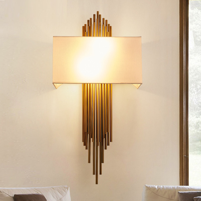 Postmodern Retro Wall Lamp Engineering Wall Light Model Designer