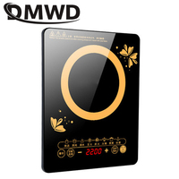 DMWD Electric magnetic induction Cooker Household waterproof panel boiler hot pot cooking stove kitchen stir fried cooktop EU US