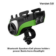 Bicycle Bluetooth Wireless Amplifier Bass Speaker Shockproof Outdoor Sport Portable Stereo Bike GBS Speaker With Mic Call
