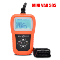 10 PCS Memoscan Mini VAG505 Super Professional Memo Scanner Vag 505 OBDii CAN OBD Code Scanner