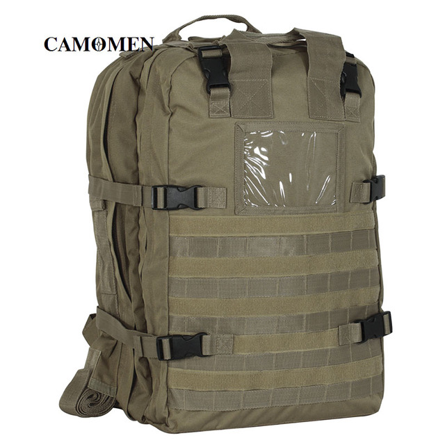 Military Medical Bag Tactical Deluxe Professional Special OPS Field Medical Pack  Tactical Medical Backpack ba807a1bd9aff