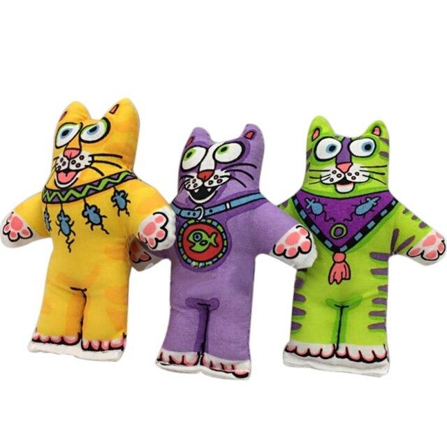 Cat Mangiare Pesce Giocattoli Pet Products Pet Giocattolo Fatcat Toy Fat Cat Con