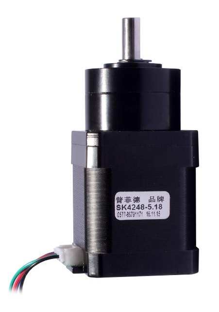 New Best Gear ratio 5.18:1 Planetary Gearbox stepper motor Nema 17 1.7A Geared Stepper Motor 3d printer stepper motor new best gear ratio 1 3 71 planetary gearbox stepper motor nema 17 1 7a geared stepper motor 3d printer stepper motor
