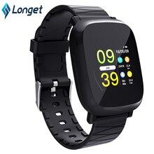 Купить с кэшбэком Longet M30 Smart Bracelet Waterproof Activity Fitness tracker HR Blood oxygen Blood pressure Smart Watch Men women PK Mi band 2