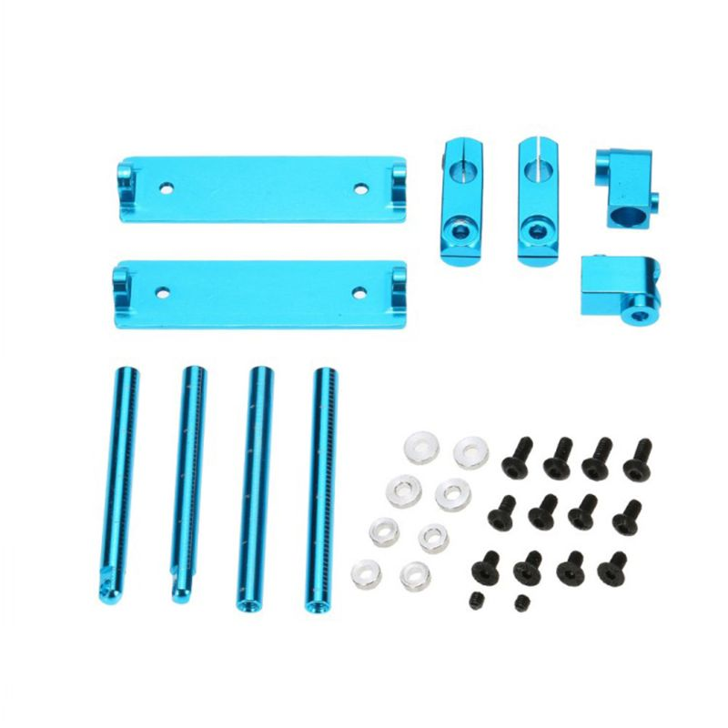 Aluminum Magnetic Invisible <font><b>Body</b></font> Post Mount Kit for <font><b>1</b></font>/<font><b>10</b></font> HSP 94122 94123 Sakura D3 XIS ZERO S CS HPI <font><b>Tamiya</b></font> Drift <font><b>RC</b></font> Car image
