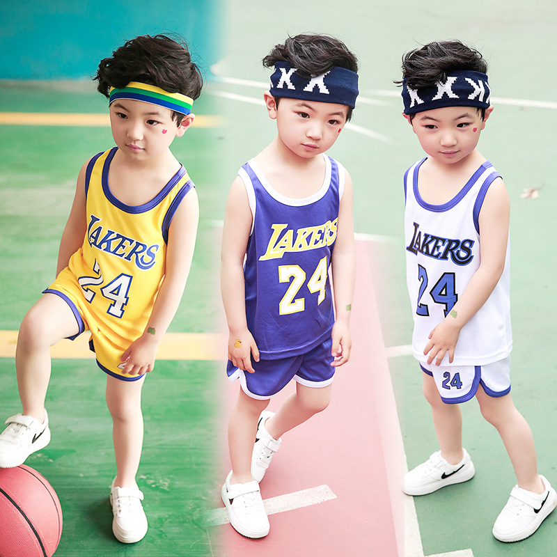 Retail 2017 Kids Summer new basketball suit sportswear set boys clothes boys clothing sets children vest+ shorts sets 2-15years 2016 kids summer boys short suit children sportswear big boy two sets of tee set