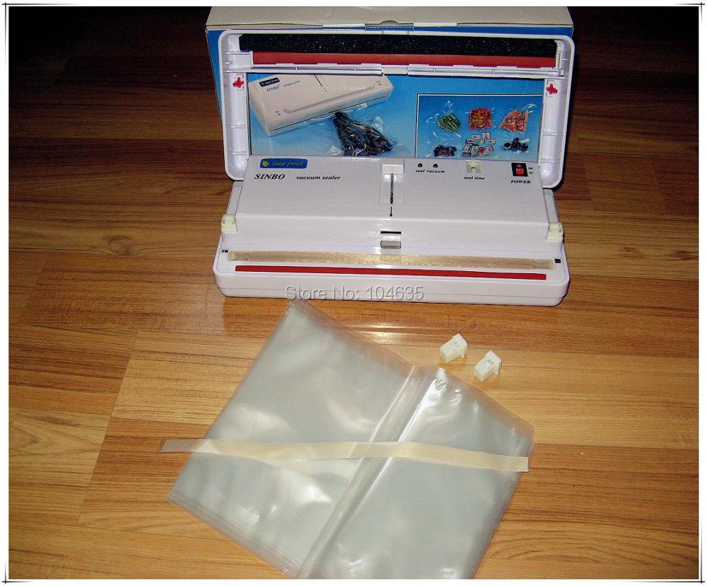Free Express Shipping SINBO DZ-280 Household Vacuum food packaging machine,plastic film sealer,vacuum packer +10 plastic bags nigella express good food fast
