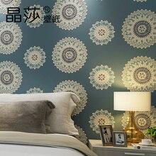 Papel Pintado Papier Peint Duvar Kağıdı Geometri Daire 3d Duvar Resimleri, Den Oturma Odası Yatak Odası Tv Zemin dokumasız Duvar Kağıdı Rulo