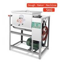 Machine électrique de fabricant de pâte 5 KG cuisine alimentaire Stand mélangeur gâteau pizza pain farine mélangeur commercial en acier inoxydable 220 V CE CB
